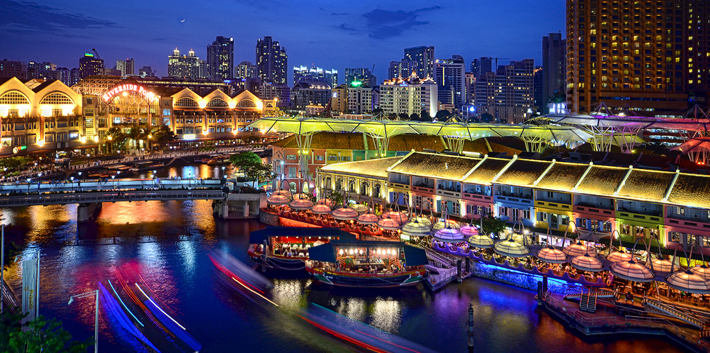 Clarke Quay and Riverside - Singapore