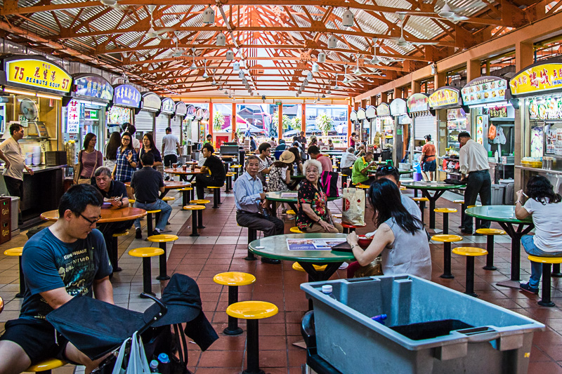 Top 10 Hawker Centres  - Singapore