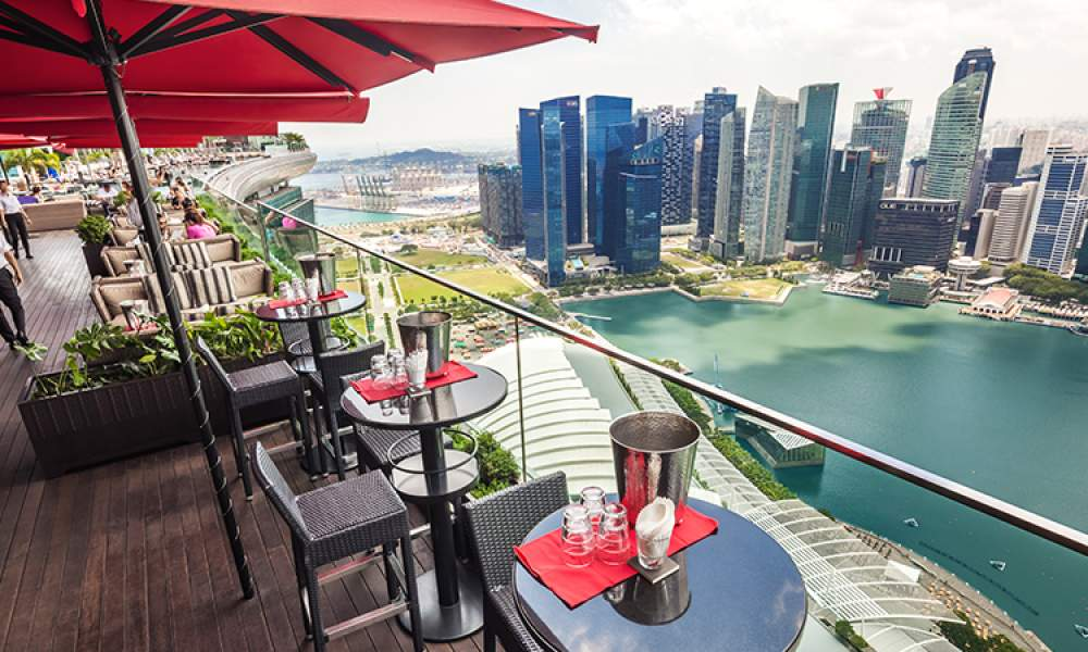 Top 10 Rooftop Bars - Singapore